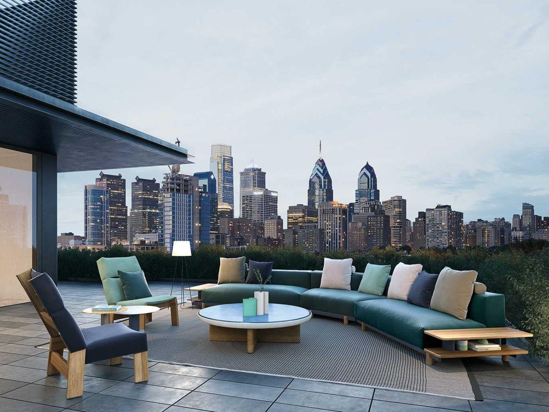 Par exemple, les matériaux et les finitions sont conçus de telle sorte que ces bancs de jardin peuvent sans souci rester sur votre terrasse de jardin ou votre coin lounge pendant tout l'été.