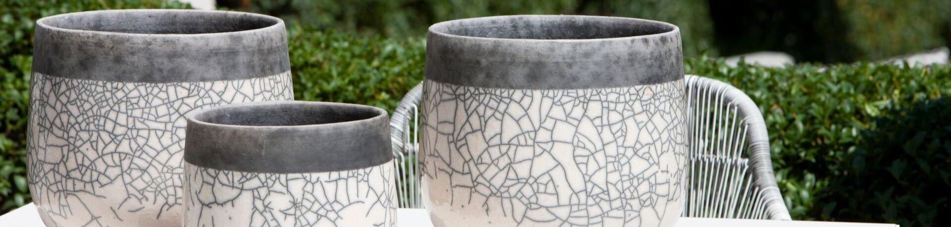 Domani stijlvolle decoratie decoratie outdoor living originele vazen